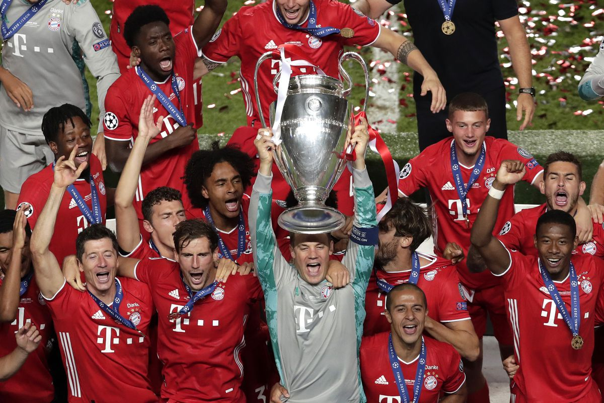 match awards from bayern munich s win over paris saint germain in the champions league final bavarian football works champions league final