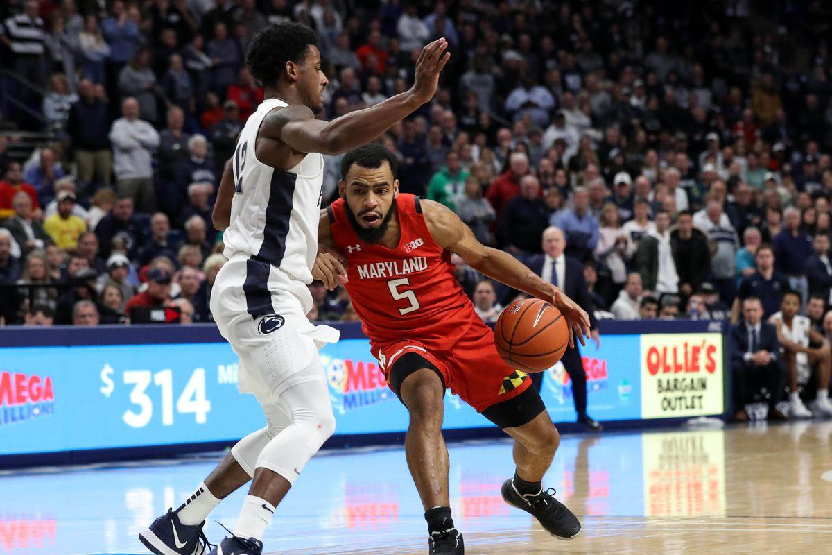 NCAA Basketball: Maryland at Penn State