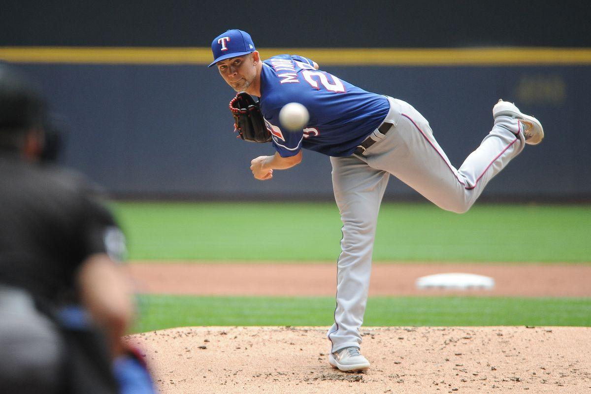 MLB: Texas Rangers at Milwaukee Brewers