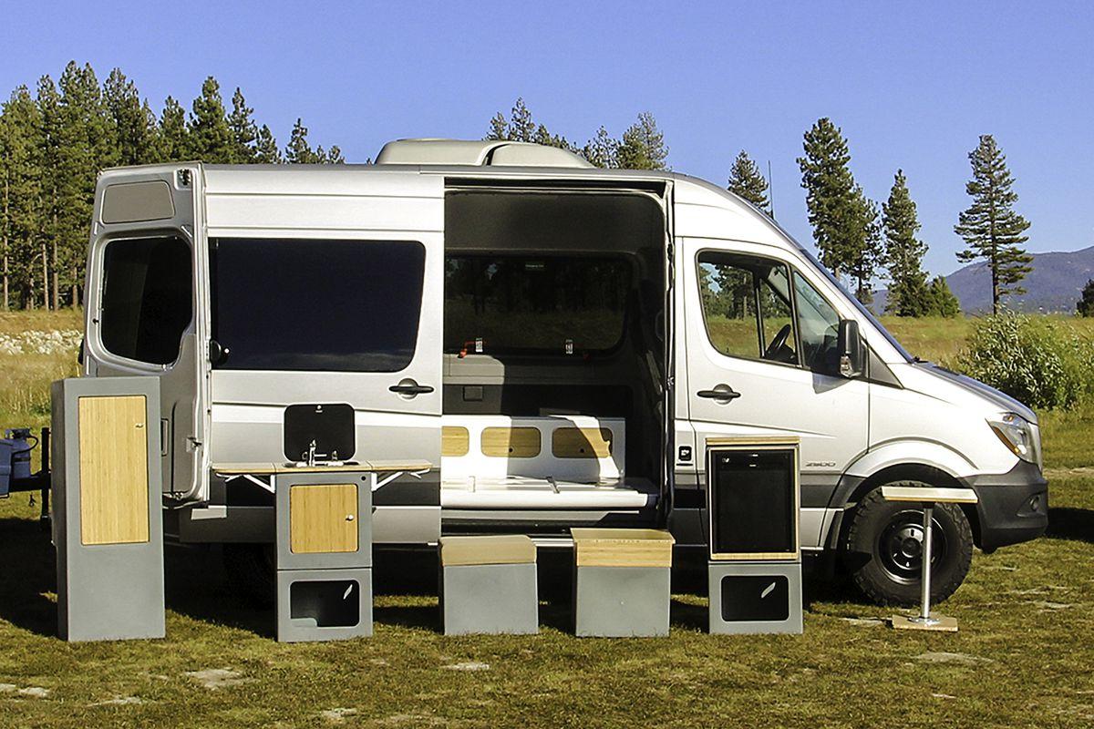 Sprinter Rv Conversion >> Camper Van Conversion Lego Like Kits Create A Modular