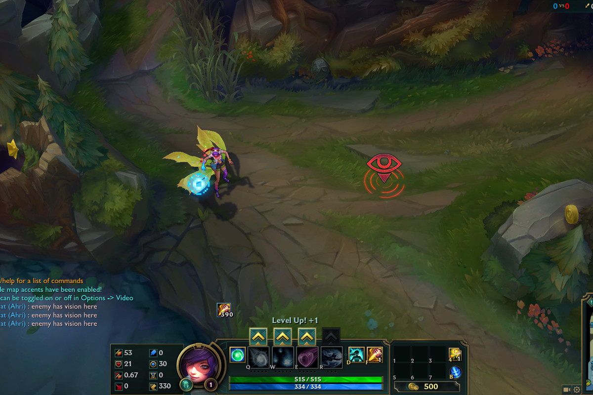 How to set up the new vision ping - The Rift Herald