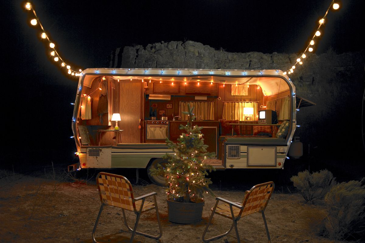 Camper Decor Ideas For The Holidays Curbed