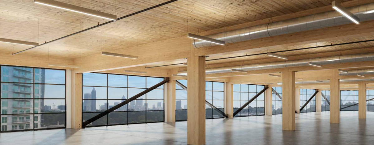 Atlanta's first timber-built office stack is set to go vertical in