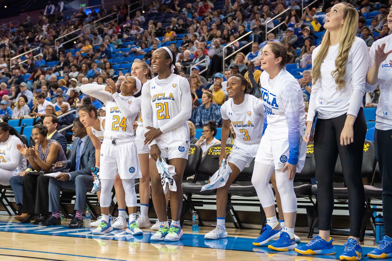 COLLEGE BASKETBALL: MAR 01 Women's Utah at UCLA