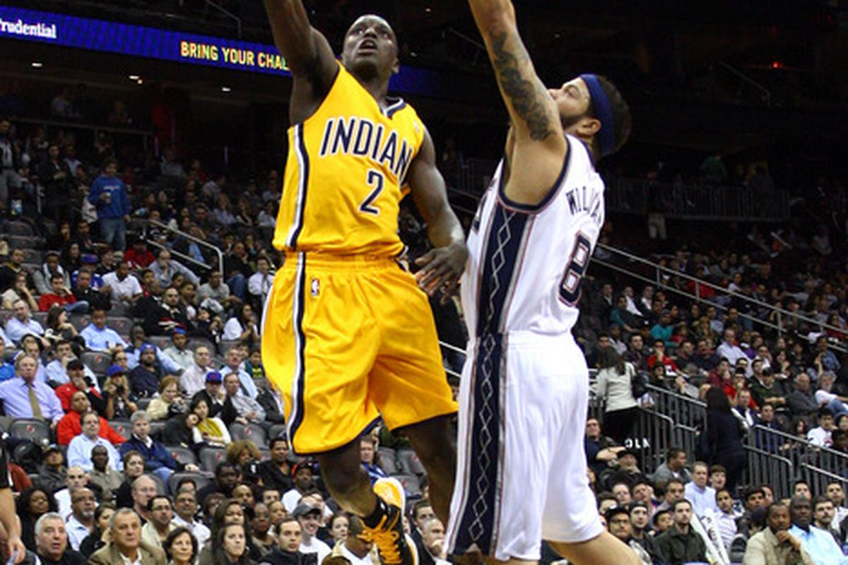 Darren Collison driving past Daren Williams? Why yes, I think I will use this picture.