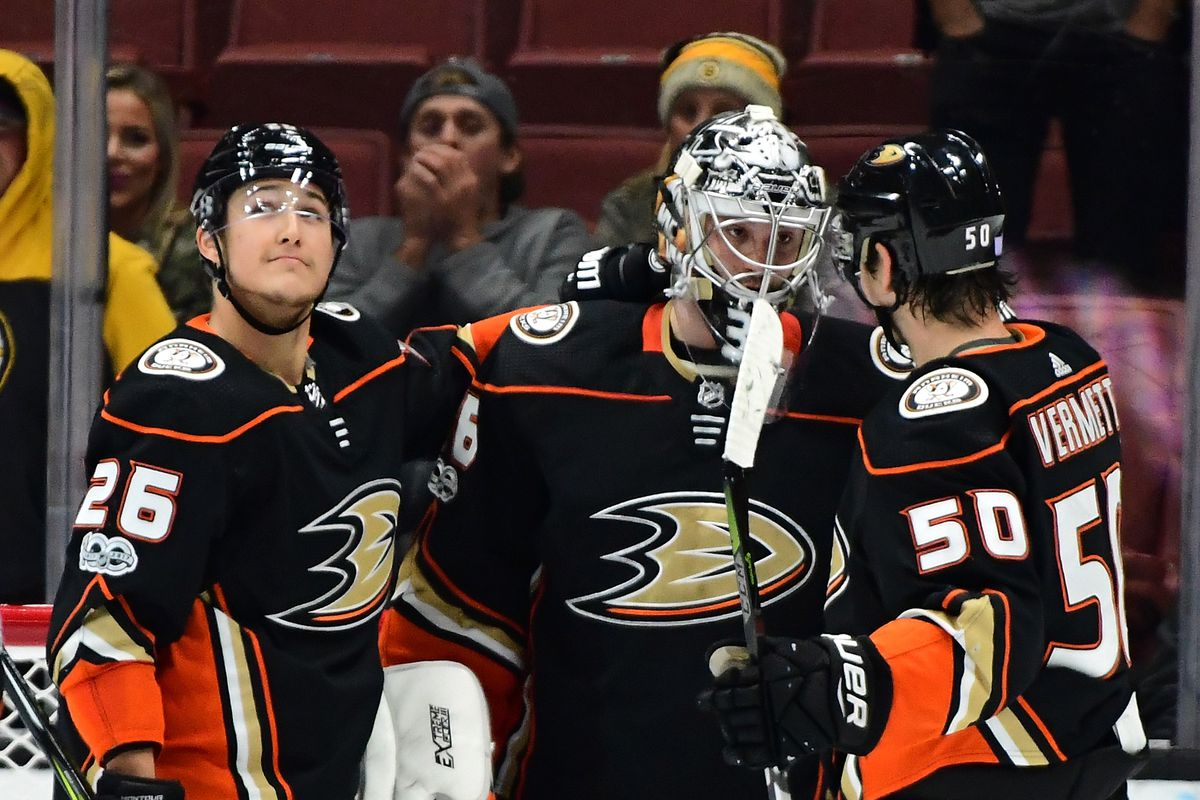 sale retailer 2abdc b812e Anaheim Ducks Weekly Rankings November 10th-17th: We Talkin ...
