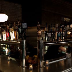 Dozens of quality beers and a well-curated wine list await you