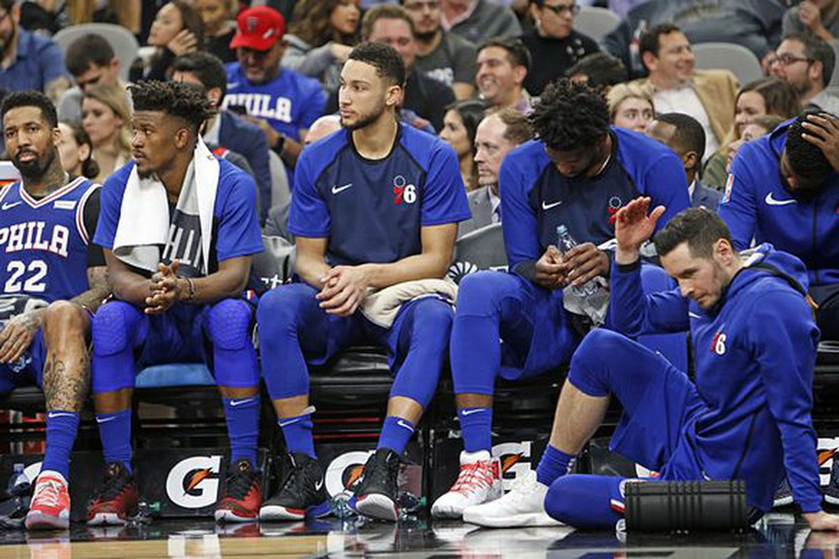 Is this the best bench the Sixers have had under Brett Brown?