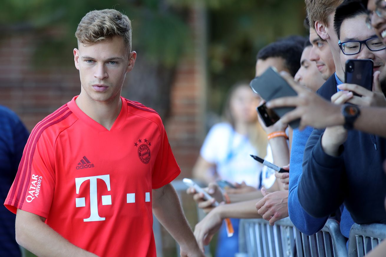 Bayern Munich?s Joshua Kimmich asks for new signings to contend in the Champions League