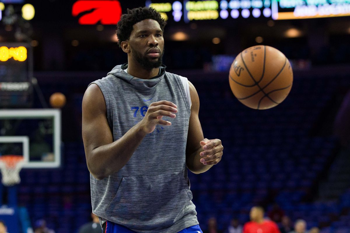 Sixers plan to play Embiid in both games of upcoming back-to-back