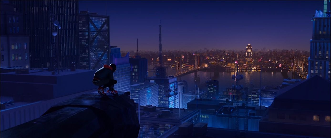 Spider Man Into The Spider Verse S Leap Of Faith Scene A