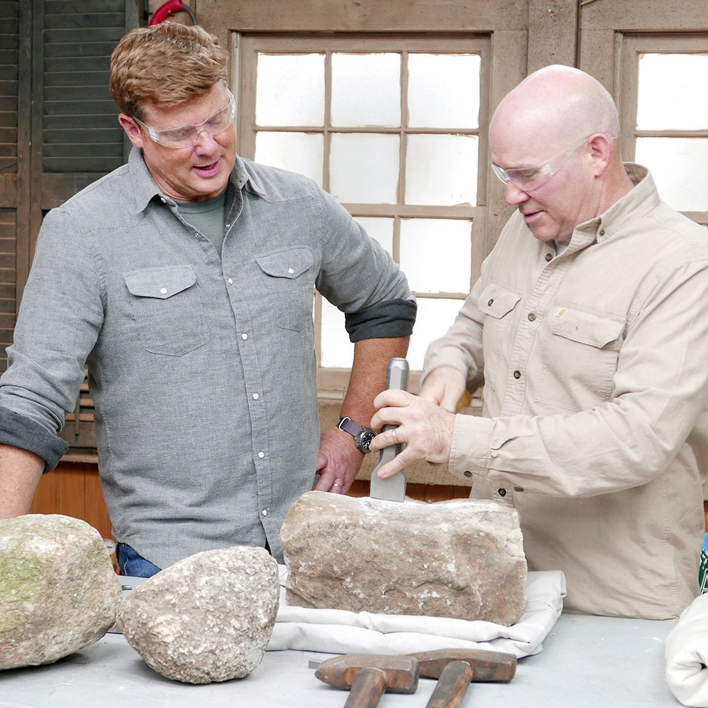 How to Cut Stone with Hand Tools - This Old House