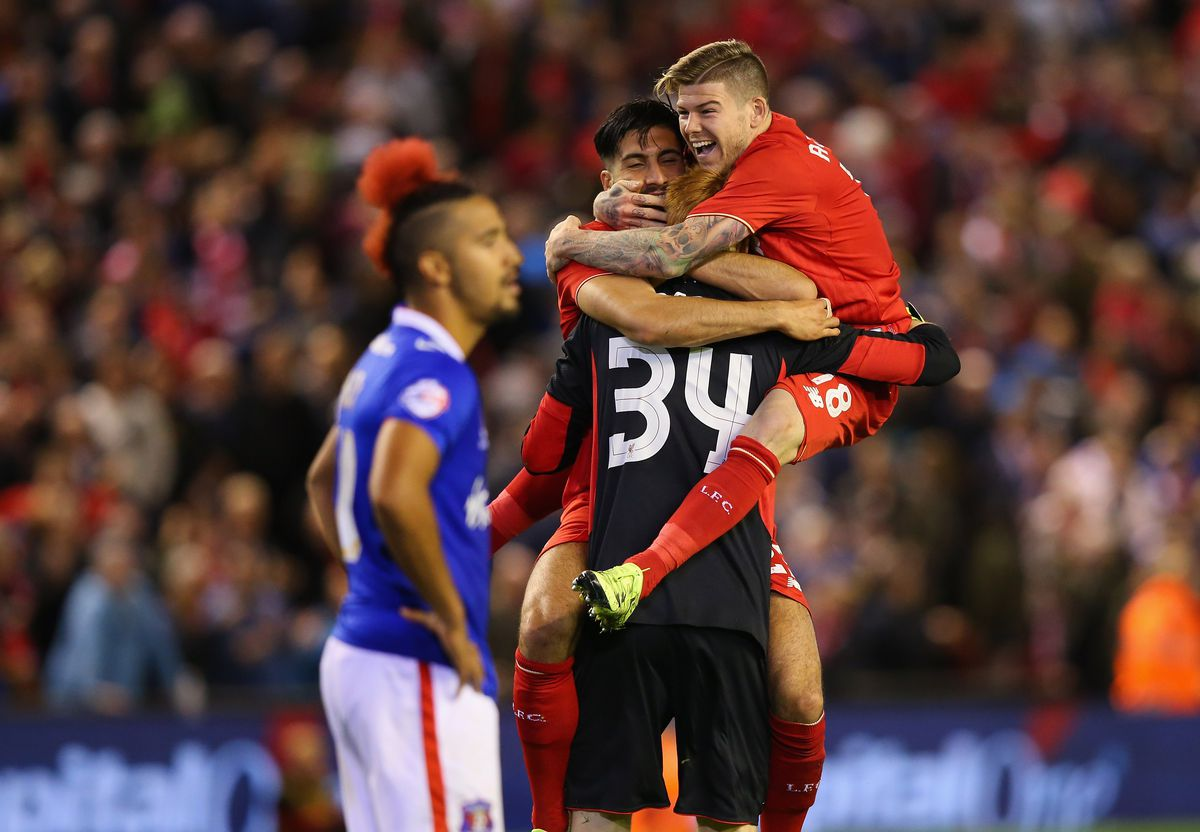 Liverpool v Carlisle United - Capital One Cup Third Round