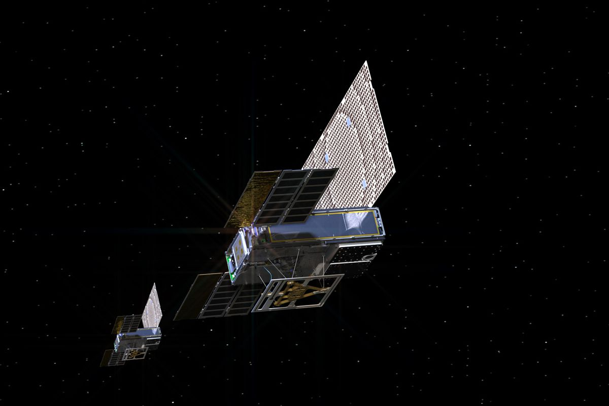 After making history, NASA's tiny deep-space satellites go