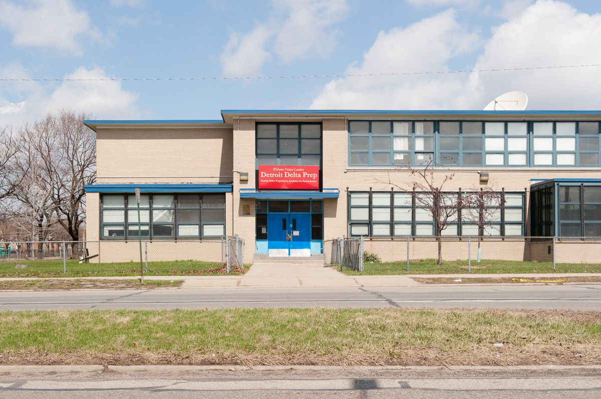 Delta Prep opened with just over 50 students in a formerly district-owned building that had enrolled roughly 1,600 students when it opened in the 1950s.