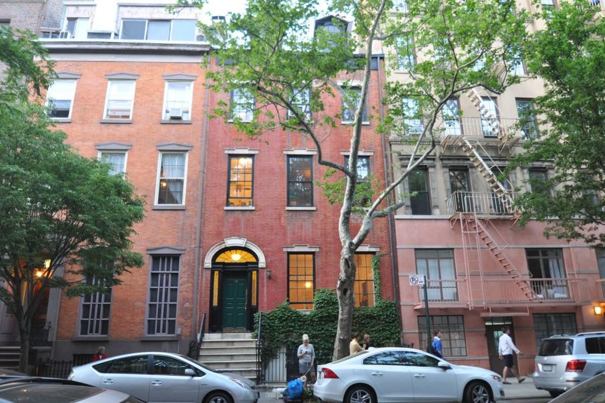 West village townhouse with one of the finest federal for West village townhouse for sale