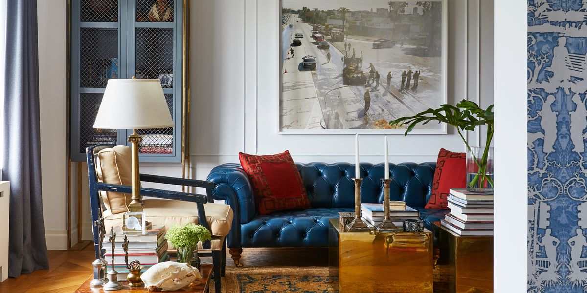 Inside Interior Designer Tim Campbell S Debonair New York City Home Curbed Ny