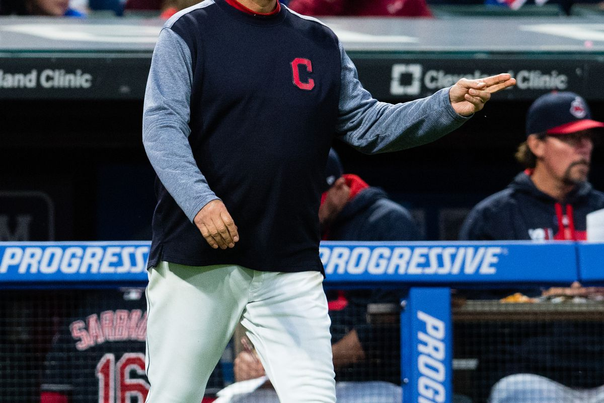 Terry Francona is back in the dugout tonight