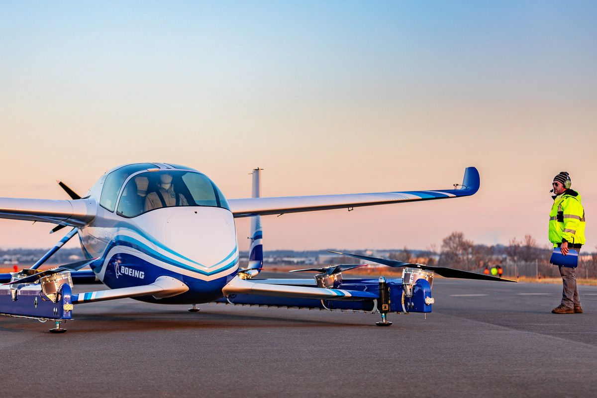 Boeing's experimental autonomous aircraft completes its first test