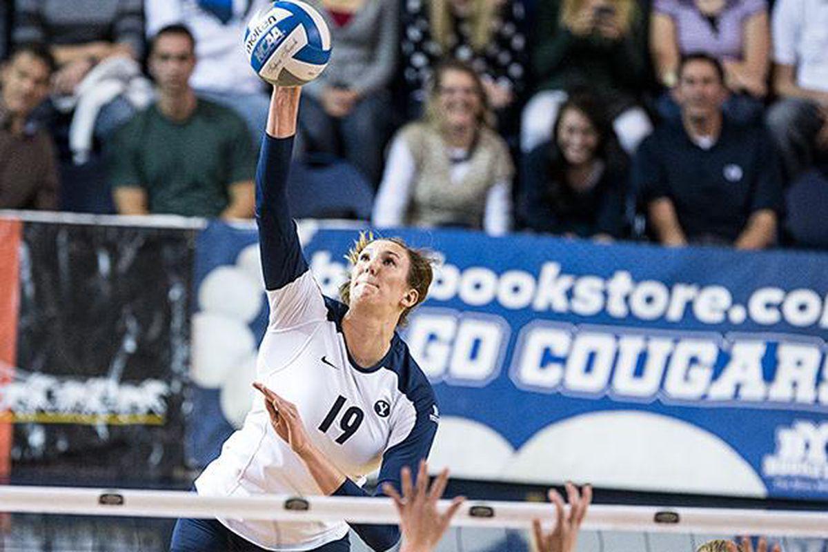 Jennifer Hamson led BYU to a win against Gonzaga
