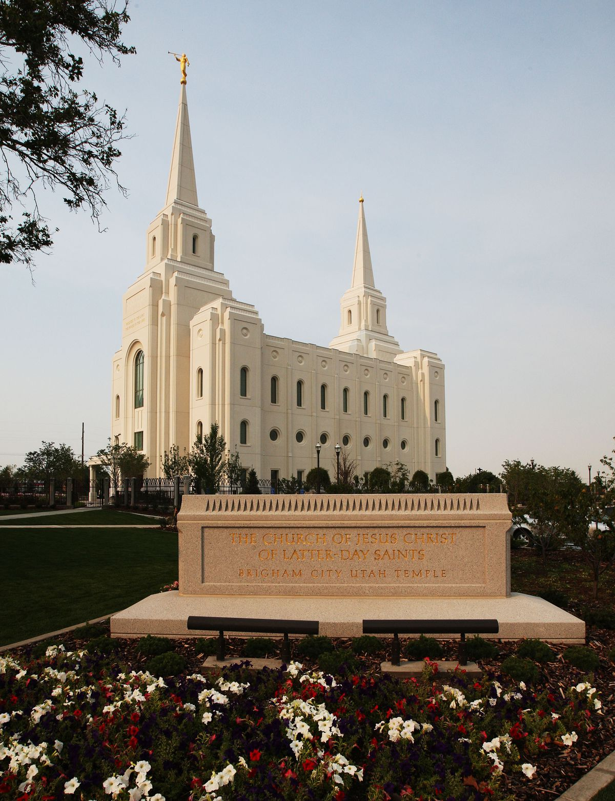 Brigham City Utah Temple, Tuesday, Aug. 14, 2012.