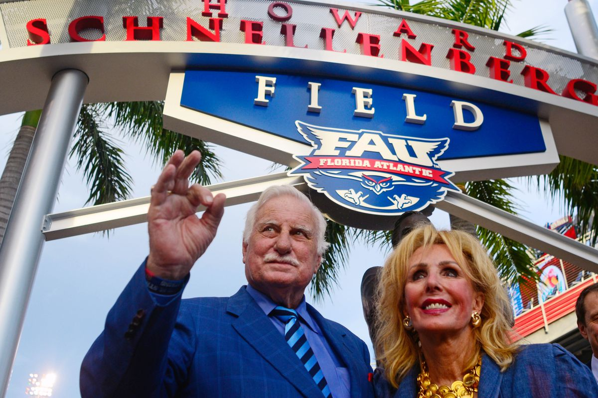 FAU fans can thank Howard Schnellenberger for this week's game between FAU and Miami.
