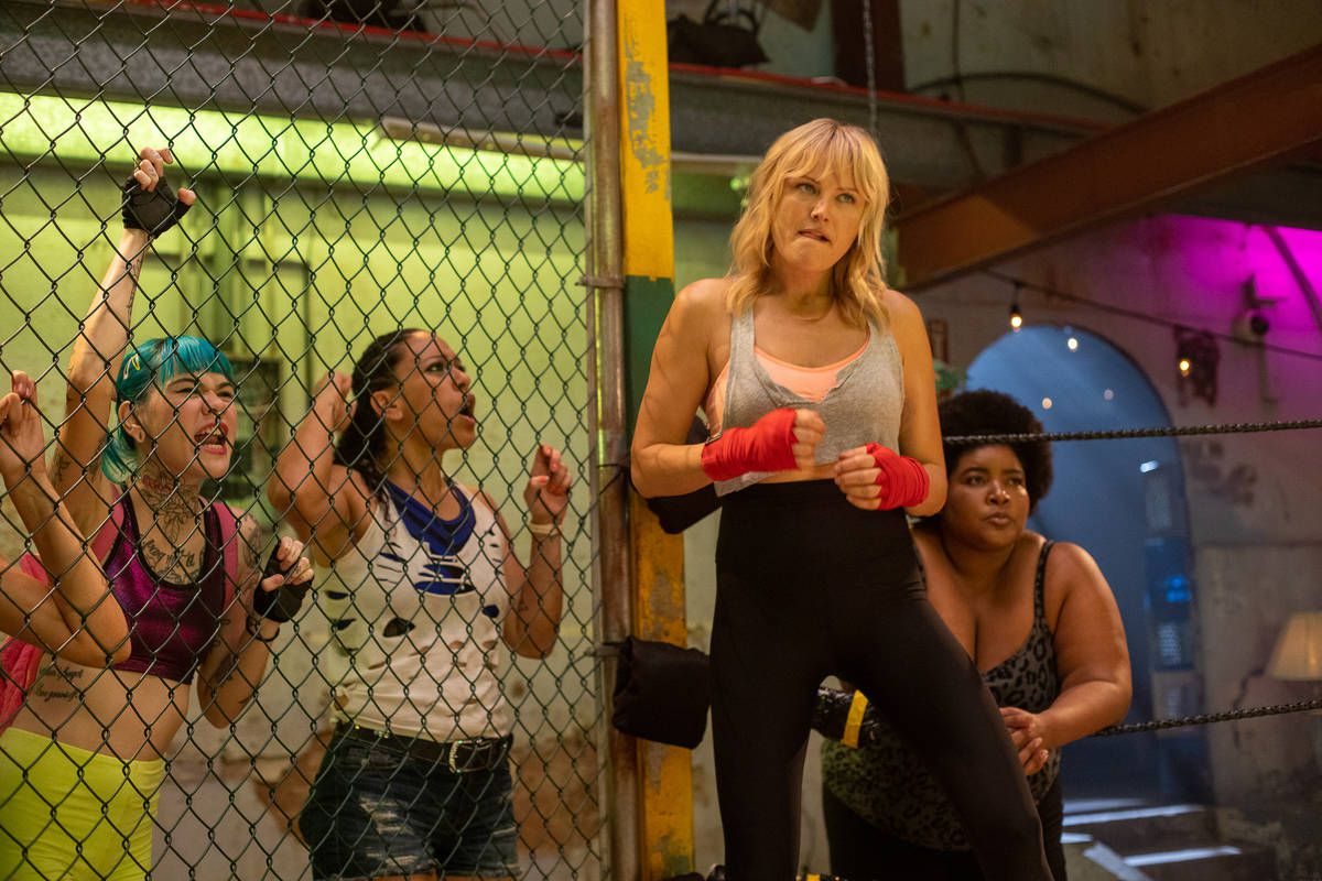 Chick Fight: Malin Akerman prepares to fight