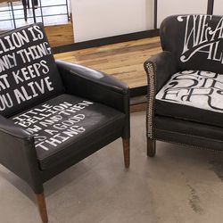 Have a seat, but stay rebellious.