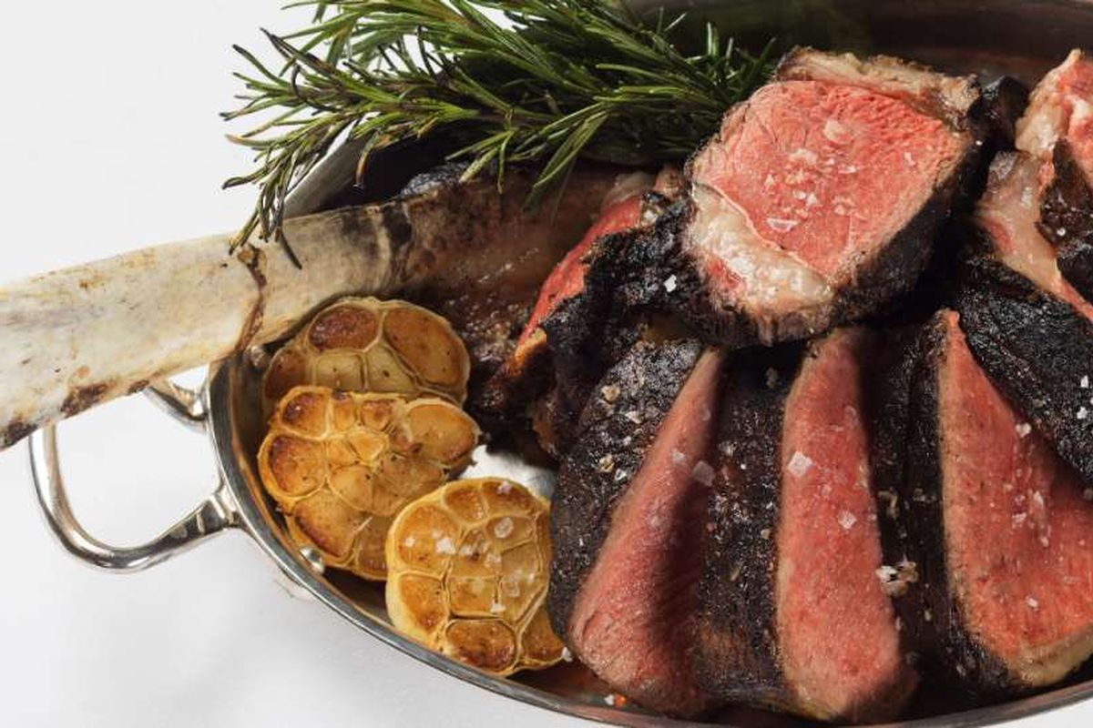 Grilled prime rib for two at Spago