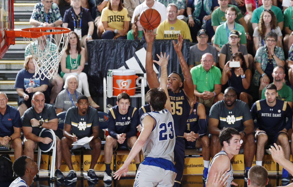 NCAA Basketball: Maui Invitational-Chaminade at Notre Dame