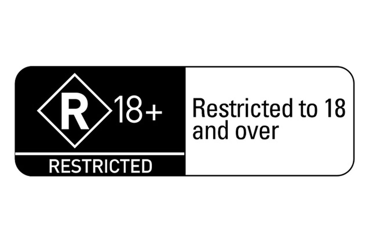Australia R18+ rating