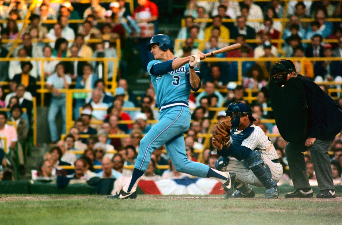 Dale Murphy in Batting Action During All Star Game