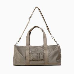 "<strong>A.P.C.</strong> Gym Bag in Military Khaki, <a href=""http://uscheckout.apc.fr/browse.cfm/4,3760.html?nav=men&subnav=bags"">$220</a>"
