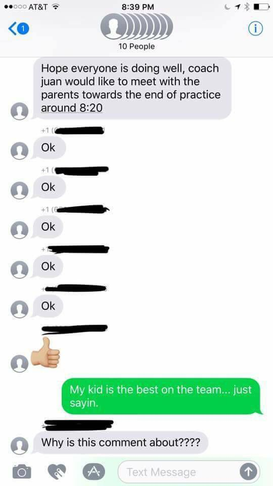 Woman Gets Accidentally Added To Soccer Mom Group Chat And Trolls