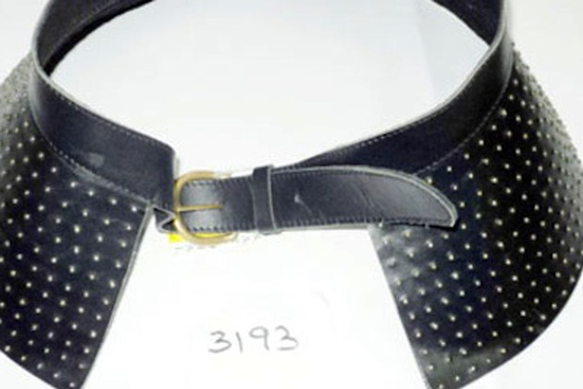 """The belt in question, via <a href=""""http://www.guardian.co.uk/business/2013/may/27/asos-withdraws-belts-radioactive-scare"""">Guardian</a>"""