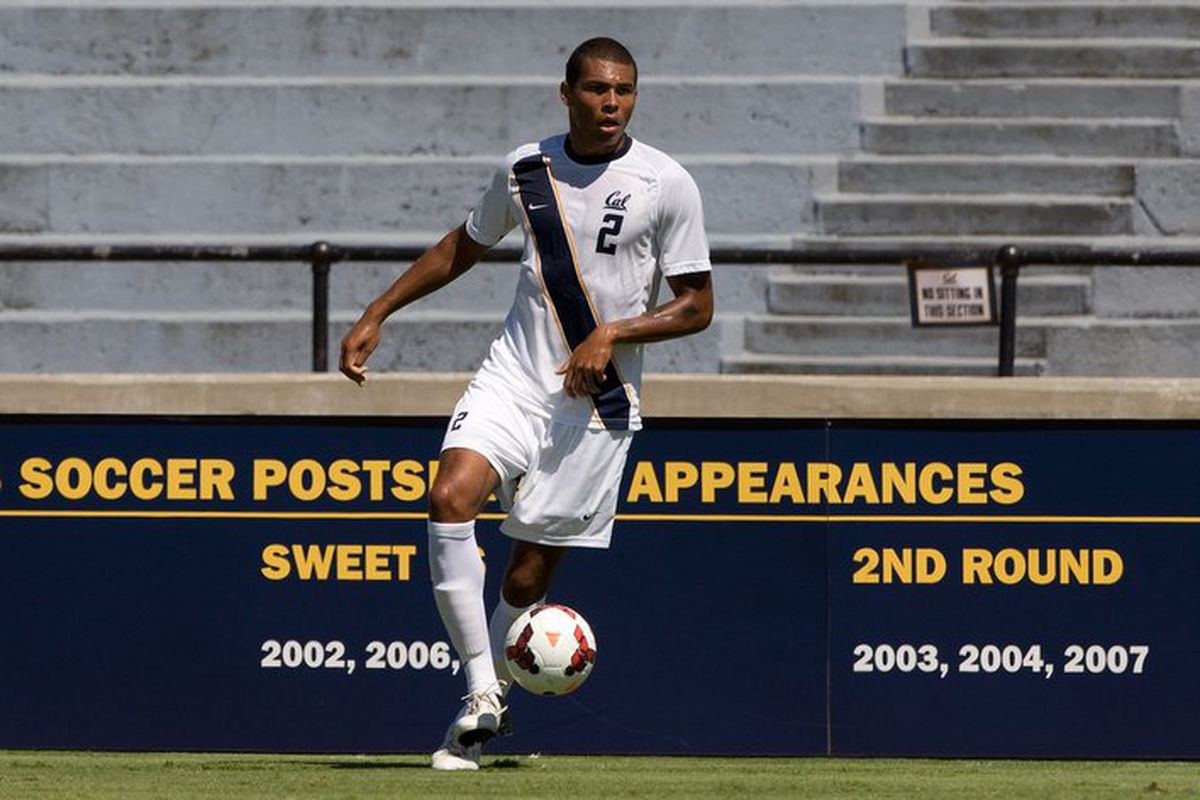 Christian Dean playing for Cal