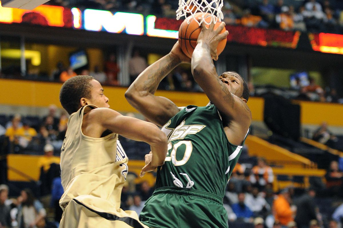 With a 96-team field, this picture of Dominique Jones against Vanderbilt could have been from a 2010 NCAA Tournament game.