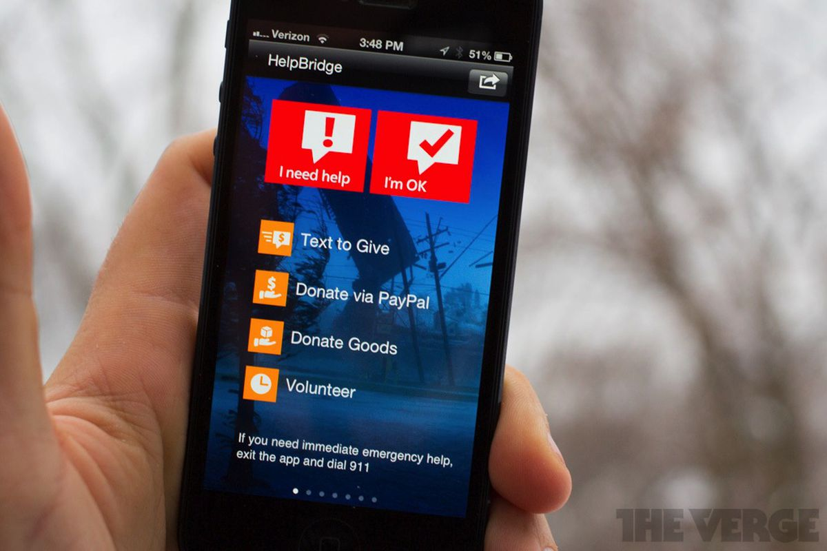Microsoft HelpBridge app stock