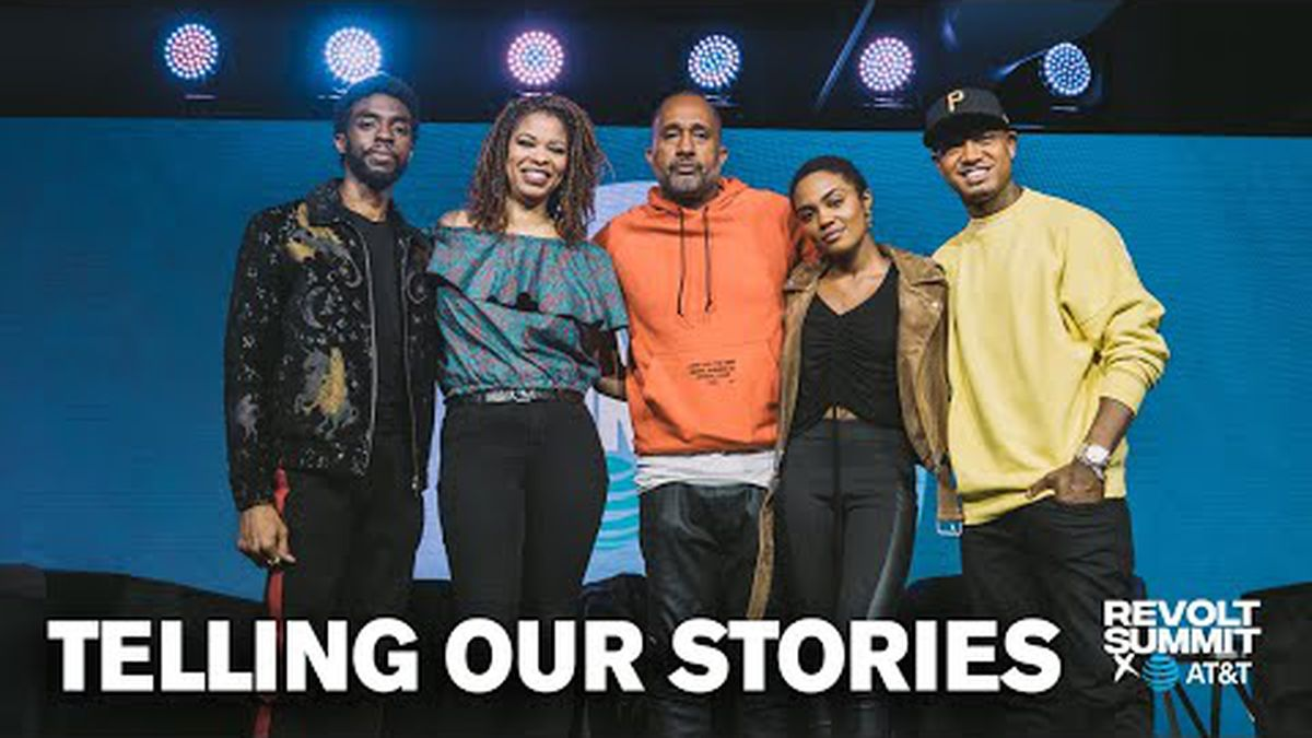 """Chadwick - """"Black Hollywood: Telling Our Stories"""""""