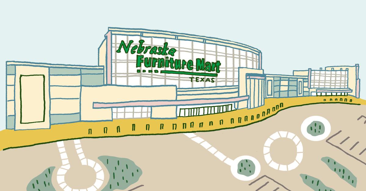 Inside nebraska furniture mart texas s largest furniture for Nebraska furniture mart in texas