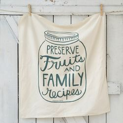"""The <a href=""""http://www.shopterrain.com/sale-kitchen/fruits-and-family-tea-towel/productOptionIDs/bd0459cc-8958-45c4-b120-330bd8a8856a"""">Fruit & Family Tea Towel</a> ($10.17) will be a bright spot among basic white dish rags."""