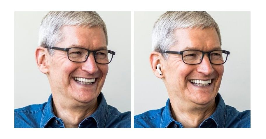 Why won't Tim Cook pose with his own AirPods?