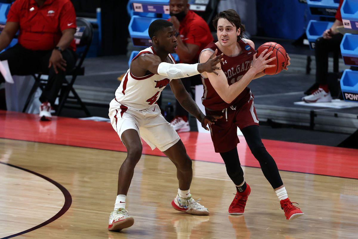 NCAA Basketball: NCAA Tournament-Colgate at Arkansas