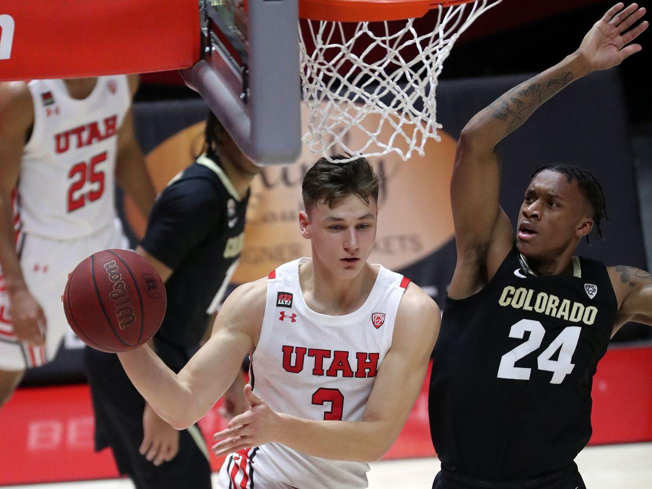 Utah basketball: Freshman guard Pelle Larsson, a Swedish import, making an instant impact for struggling Utes