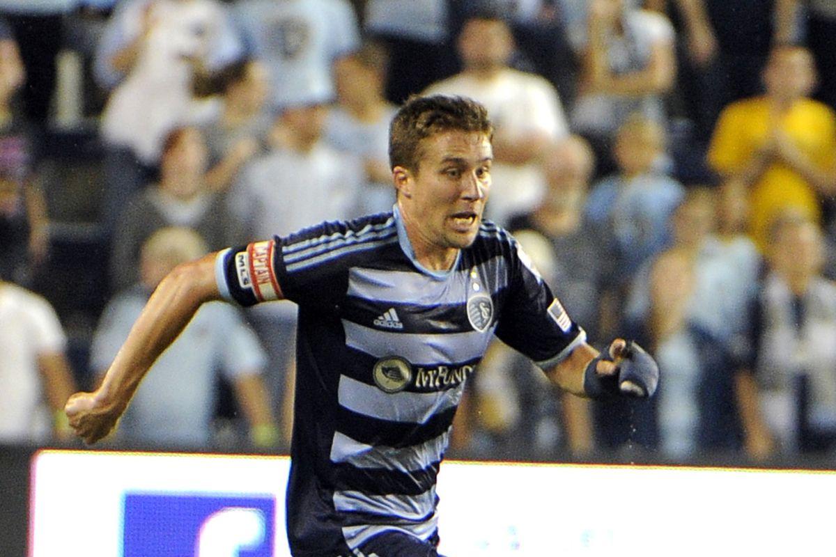 Sporting Kansas City Captain Matt Besler will again represent the U.S.