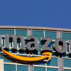 The Amazon building in Santa Clara, California. Amazon is an American international electronic commerce company. It is the world's largest online retailer.
