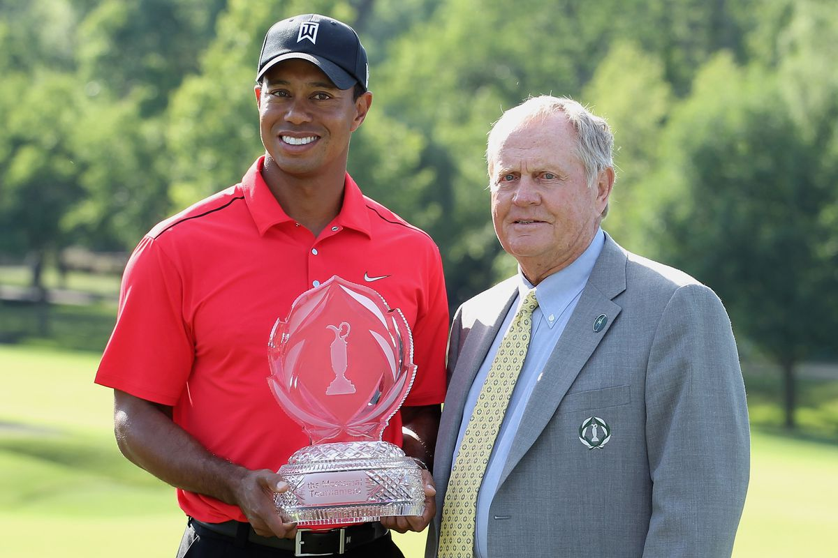 Image result for the memorial tournament tiger woods