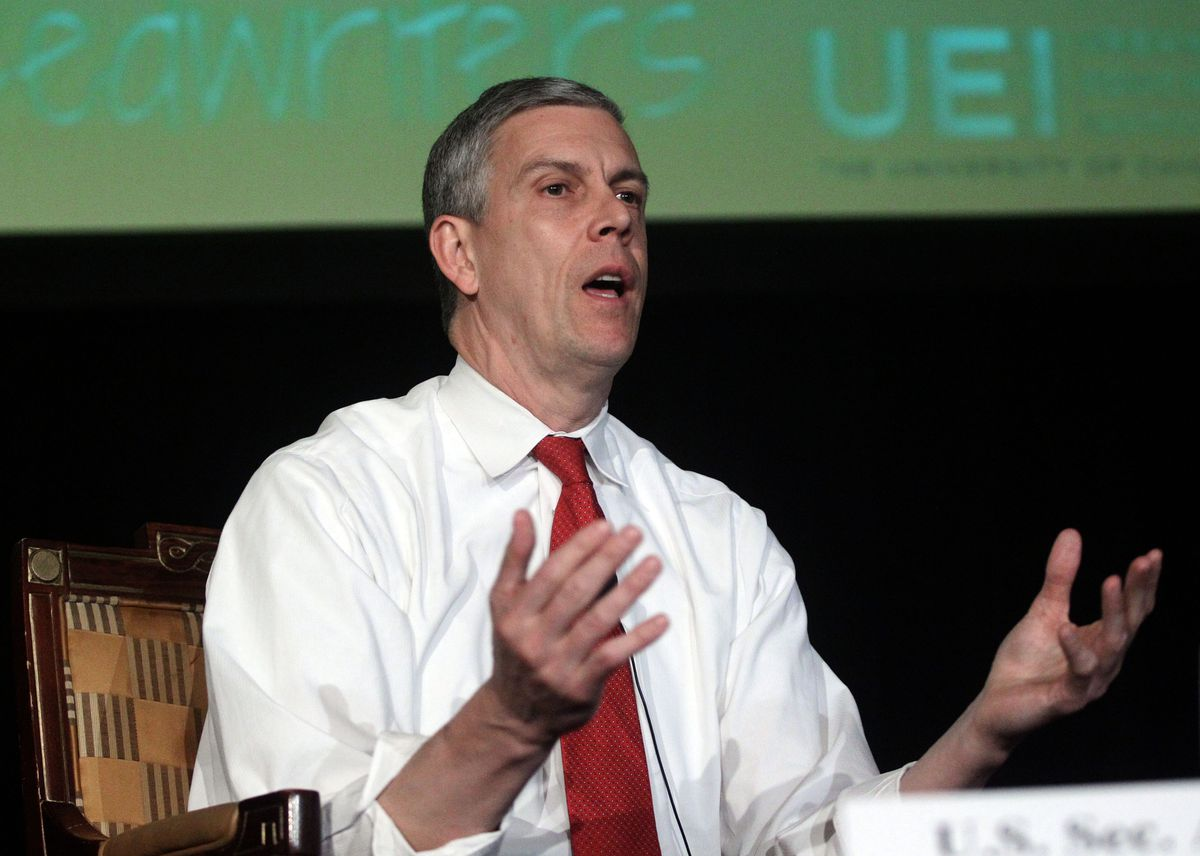 Former CPS chief and U.S. education secretary Arne Duncan now has a nonprofit that works with at-risk youth.