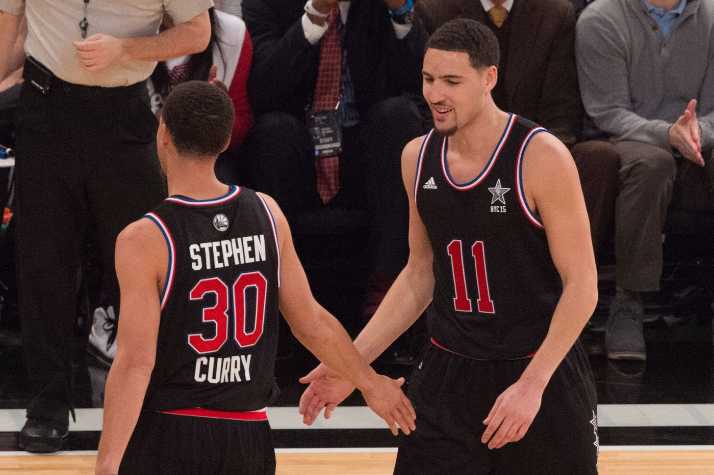 Stephen Curry Klay Thompson and the best backcourt duos of all