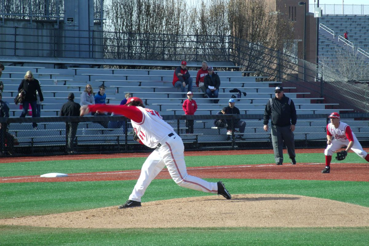 A strong start for senior left-hander Ryan Riga went for naught as Maryland rallied late